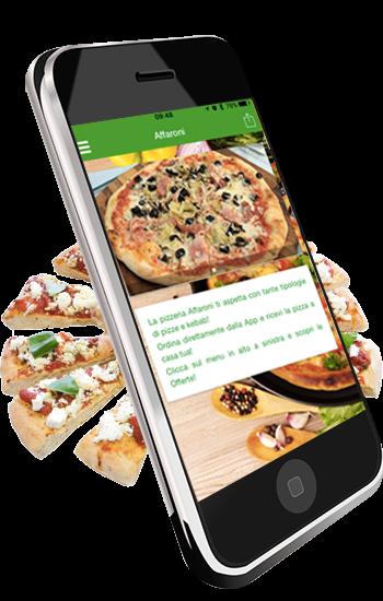Immagine App per Pizzeria