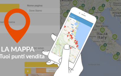 La Mappa punti vendita nella App