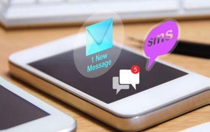 Sms, Email e Notifiche Push…tre metodi di comunicazione a confronto