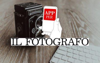 La App per gli studi fotografici