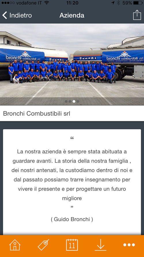 App Bronchi Combustibili Srl