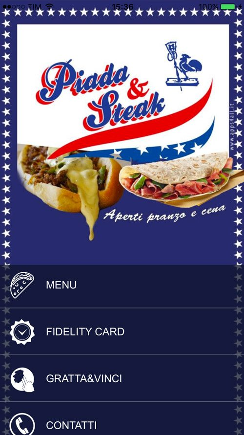 App Piada & Steak
