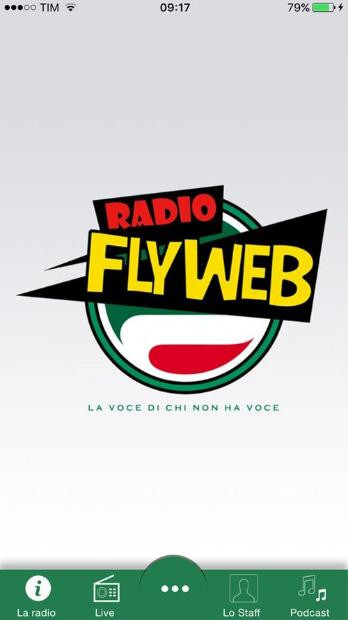 App Radio Fly Web