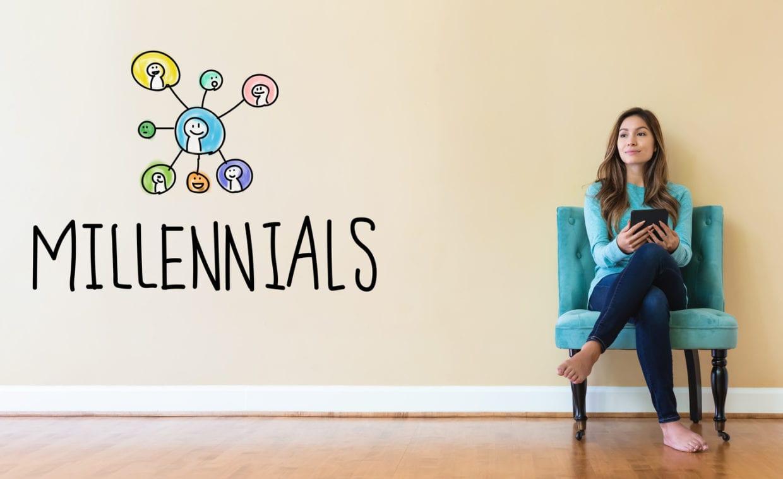 5 interessanti fatti sui Millennials che usano le app.